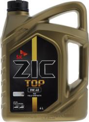 Моторное масло ZIC TOP 0W-40 (4 л.) 162900