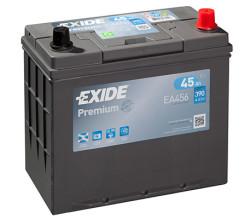 Аккумулятор Exide EA456 45Ah 390A 234x127x220 о.п. (-+) Premium