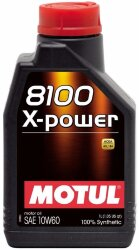 Моторное масло Motul 8100 X-Power 10W-60 (1 л.) 106142