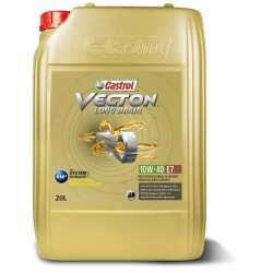 Моторное масло Castrol Vecton Long Drain 10W-40 E7 (20 л.) 15B353