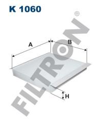 Фильтр салона Filtron K1060