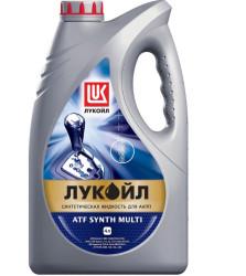 Трансмиссионное масло Лукойл ATF Synth Multi (4 л.) 1610384