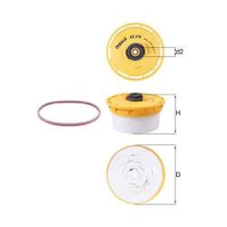 Топливный фильтр Mahle-Knecht KX479D