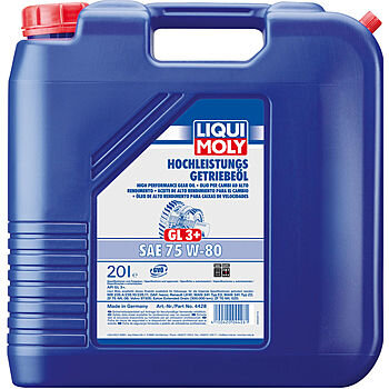 Трансмиссионное масло Liqui Moly Hochleistungs-GetriebeOil 75W-80 (20 л.) 4428