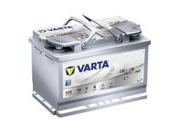 Аккумулятор Varta Silver Dynamic AGM 70Ah 760A 278x175x190 о.п. (-+) 570901076
