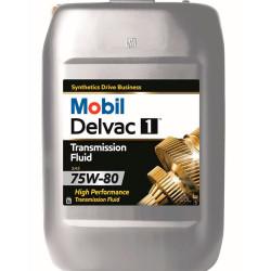Трансмиссионное масло Mobil Delvac 1 Transmission Fluid 75W-80 (20 л.) 155220