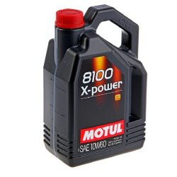 Моторное масло Motul 8100 X-Power 10W-60 (4 л.) 106143