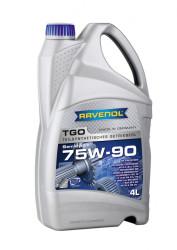 Трансмиссионное масло Ravenol TGO 75W-90 (4 л.) 1222105-004-01-999