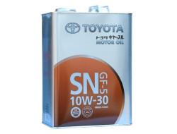 Моторное масло Toyota SN 10W-30 (4 л.) 08880-10805