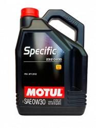Моторное масло Motul Specific 2312 0W-30 (5 л.) 106414