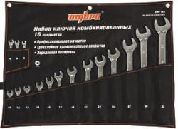 Набор ключей гаечных Ombra, 8-32 мм., 16 предметов OMT16S