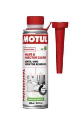 Motul Valve and Injector Cleaner Очиститель клапанов и форсунок бензин (0,3 л.) 108123