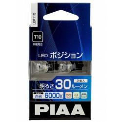 Автолампа PIAA Bulb LED Position T10 6000K LEP115-T10