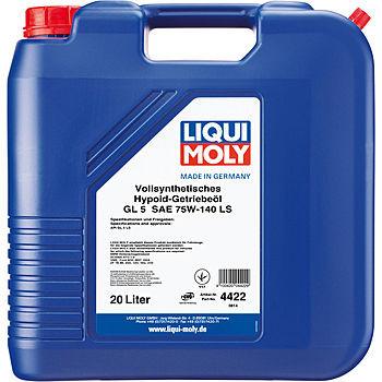 Трансмиссионное масло Liqui Moly Vollsynthetisches Hypoid-Getriebeoil LS 75W-140 (20 л.) 4422
