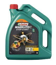 Моторное масло Castrol Magnatec Stop-Start 5W-20 E (5 л.) 15CC4D