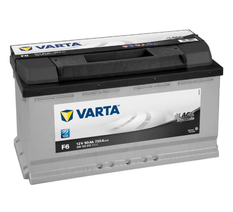 Аккумулятор Varta Black Dynamic 90Ah 720A 353x175x190 о.п. (-+) 590122072