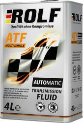 Трансмиссионное масло Rolf ATF Multivehicle (4 л.) 322288
