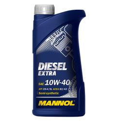 Моторное масло Mannol Diesel Extra 10W-40 (1 л.) 1105