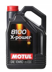 Моторное масло Motul 8100 X-Power 10W-60 (5 л.) 106144