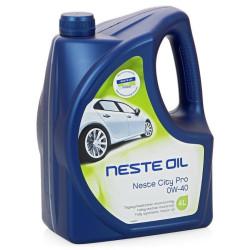Моторное масло Neste City Pro 0W-40 (4 л.) 013445