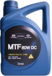 Трансмиссионное масло Hyundai/Kia MTF DC 80W (4 л.) 04300-00440