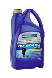 Масло четырехтактное Ravenol Outboardoel 4T 10W-40 (4 л.) 1153204004