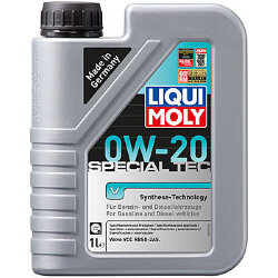 Моторное масло Liqui Moly Special Tec V 0W-20 (1 л.) 20631