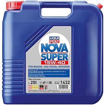 Моторное масло Liqui Moly Nova Super 15W-40 (20 л.) 1432