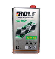 Моторное масло Rolf Energy 10W-40 SL/CF (1 л.) 322232