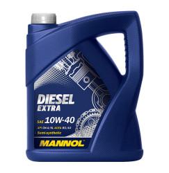 Моторное масло Mannol Diesel Extra 10W-40 (5 л.) 1106