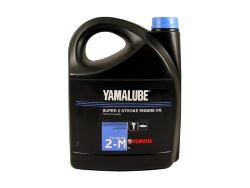 Масло двухтактное Yamaha Yamalube Super 2 Stroke Engine Oil 2-M (5 л.) YMD-63021-05-A2