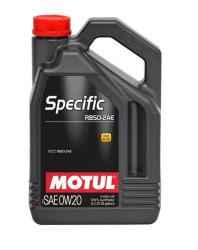 Моторное масло Motul Specific RBS0-2AE 0W-20 (5 л.) 106045