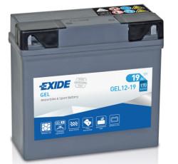 Аккумулятор Exide GEL12-19 19Ah 170A 185x80x170 о.п. (-+)