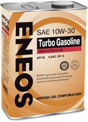 Моторное масло Eneos 10W-30 SL (4 л.) Oil1439