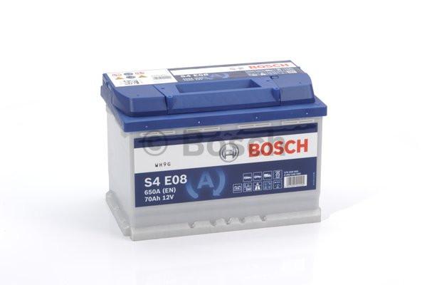 Аккумулятор Bosch S4E 12V 60Ah 650A 0092S4E050