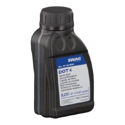 Тормозная жидкость SWAG DOT 4 (0,25 л.) 99900001