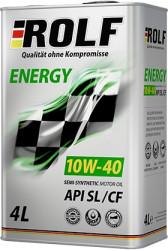 Моторное масло Rolf Energy 10W-40 SL/CF (4 л.) 322227