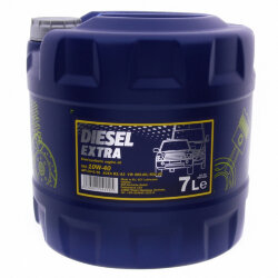 Моторное масло Mannol Diesel Extra 10W-40 (7 л.) 1280