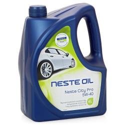 Моторное масло Neste City Pro 5W-40 (4 л.) 013545