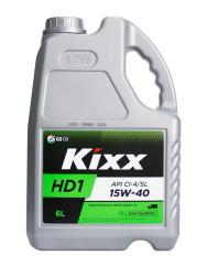 Моторное масло Kixx HD1 15W-40 (6 л.) L2015360E1