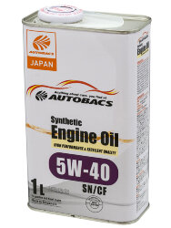 Моторное масло Autobacs Synthetic 5W-40 (1 л.) A00032065