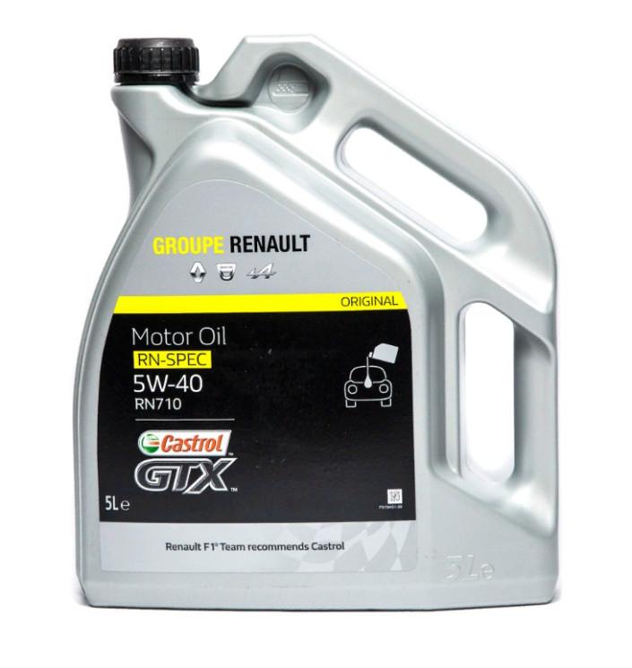 Моторное масло Renault RN-Spec 5W-40 RN710 (5 л.) 7711943691