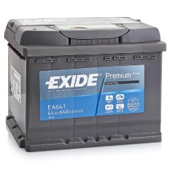Аккумулятор Exide EA641 64Ah 640A 242x175x190 п.п. (+-) Premium