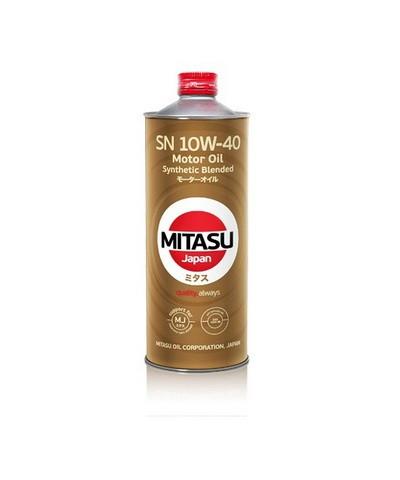 Моторное масло Mitasu MJ-122A Motor Oil SN 10W-40 (1 л.) MJ122A1