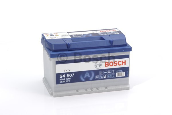 Аккумулятор Bosch S4E 12V 65Ah 650A 0092S4E070