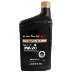 Моторное масло Honda Synthetic Blend 0W-20 SN (1 л.) 08798-9036