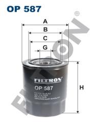Фильтр масляный Filtron OP587