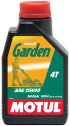 Масло четырехтактное Motul Garden 4T 15W-40 (0,6 л.) 106992