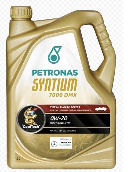 Моторное масло Petronas Syntium 7000 DMX 0W-20 (5 л.) 20385019