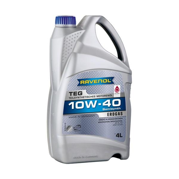 Моторное масло Ravenol TEG 10W-40 (4 л.) 1132100004